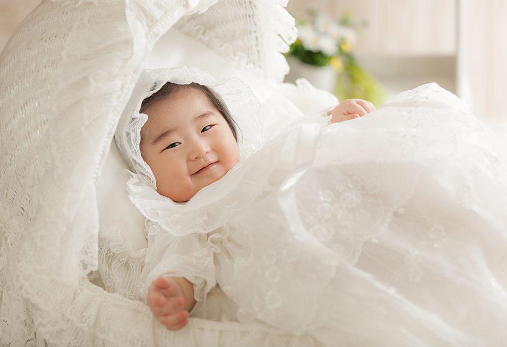 赤ちゃんの男の子-ドレス