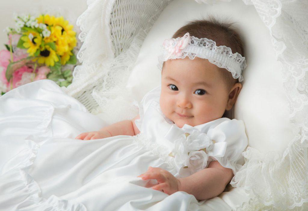 赤ちゃん女の子-ドレス