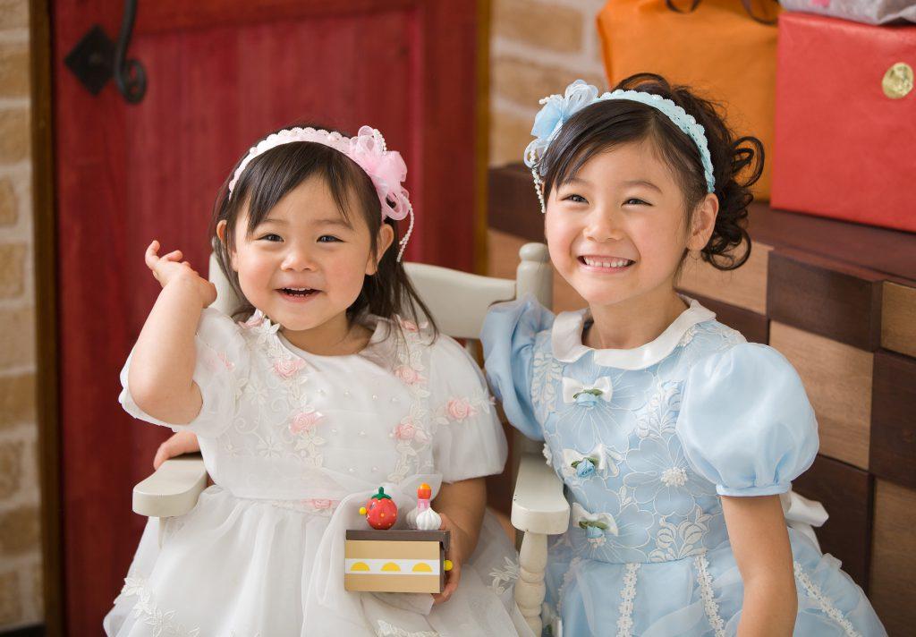 お誕生日記念-姉妹の写真