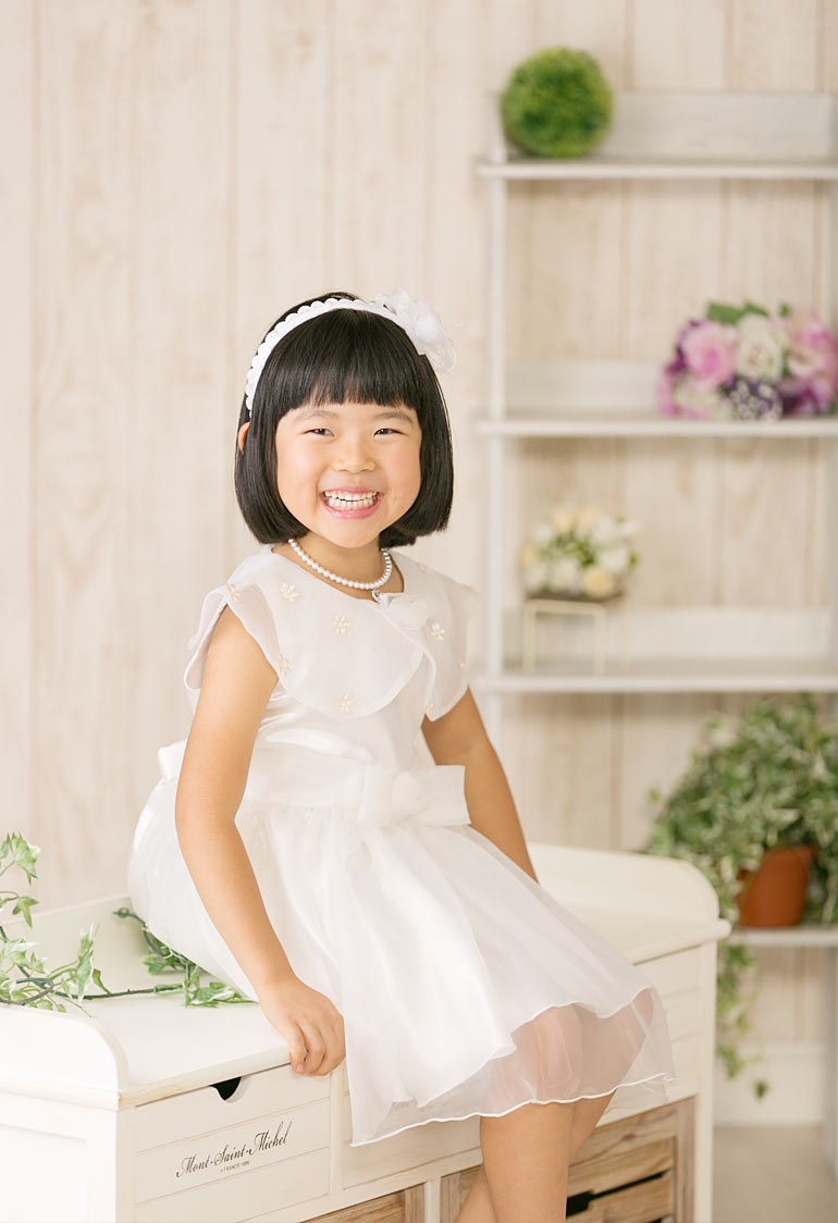 女の子のお誕生日記念写真