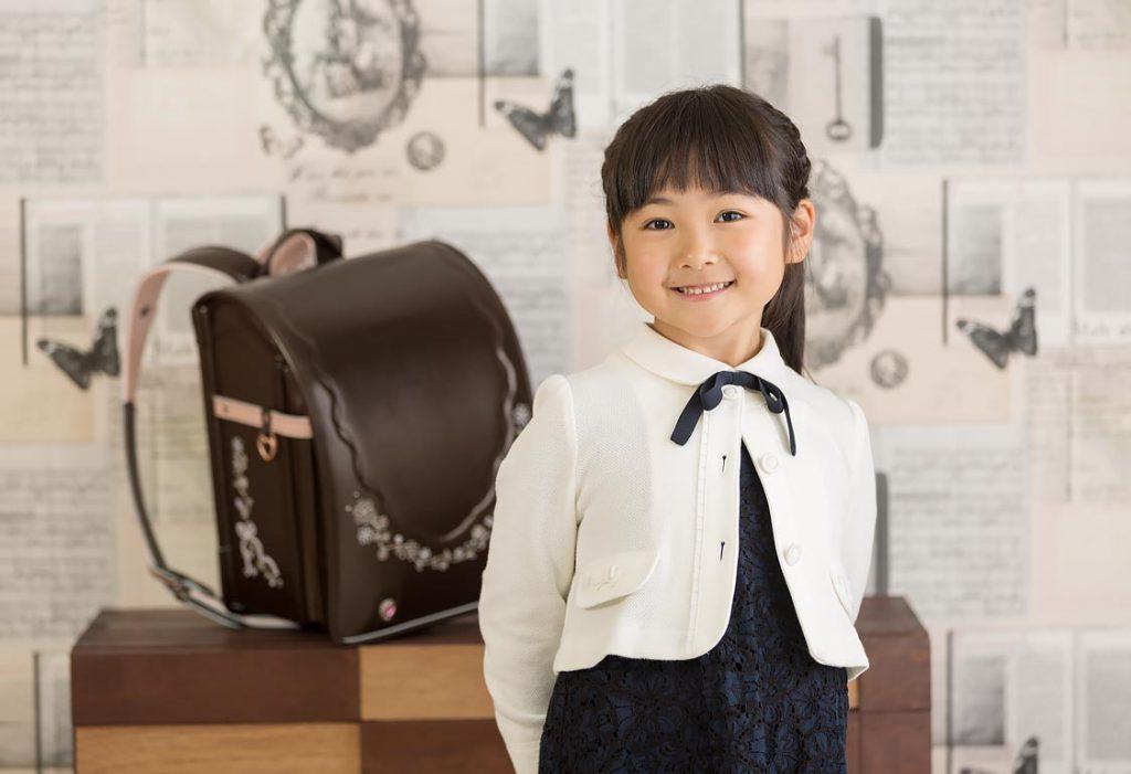 女の子-入学スタジオ撮影