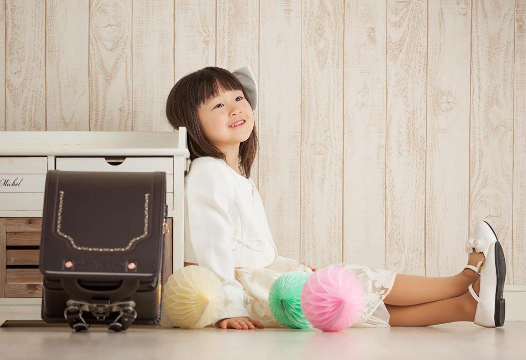 入学記念-女の子撮影