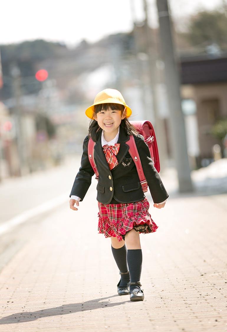 女の子-入学式の格好