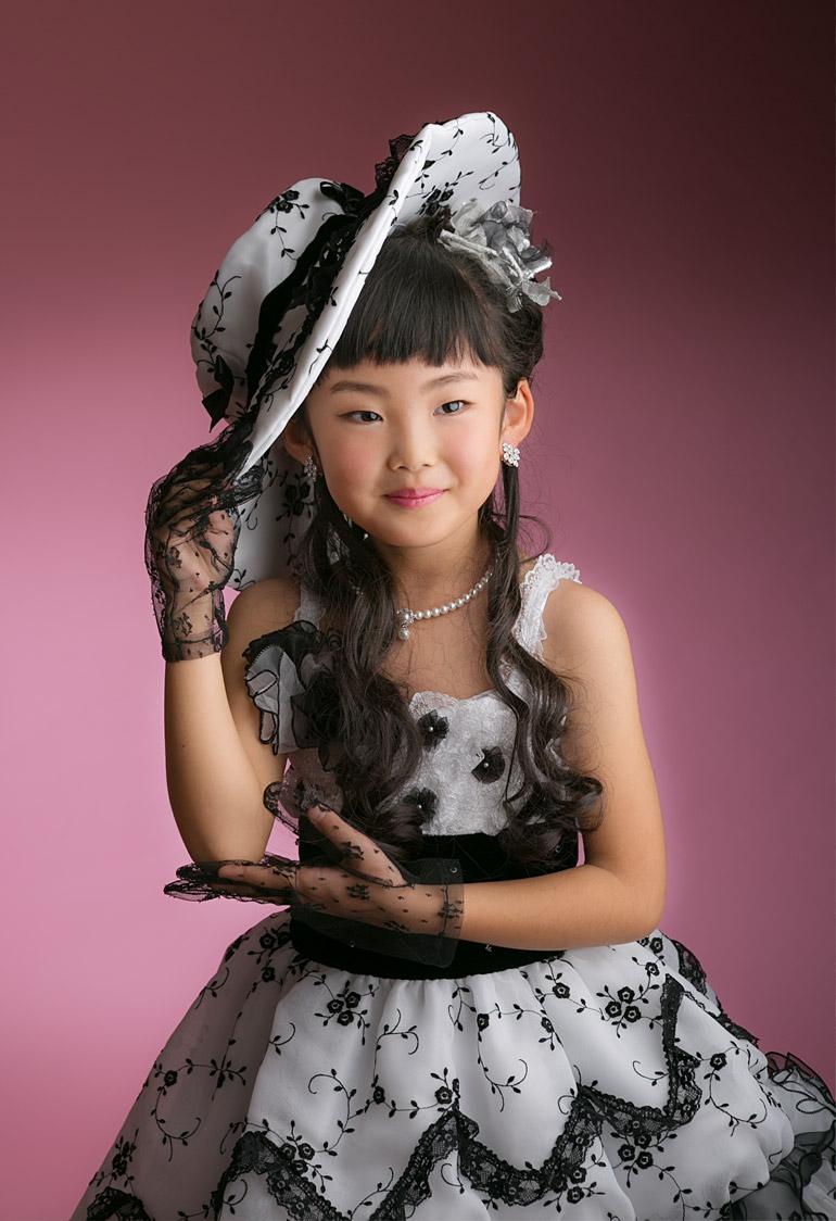 7才ドレス-七五三の女の子