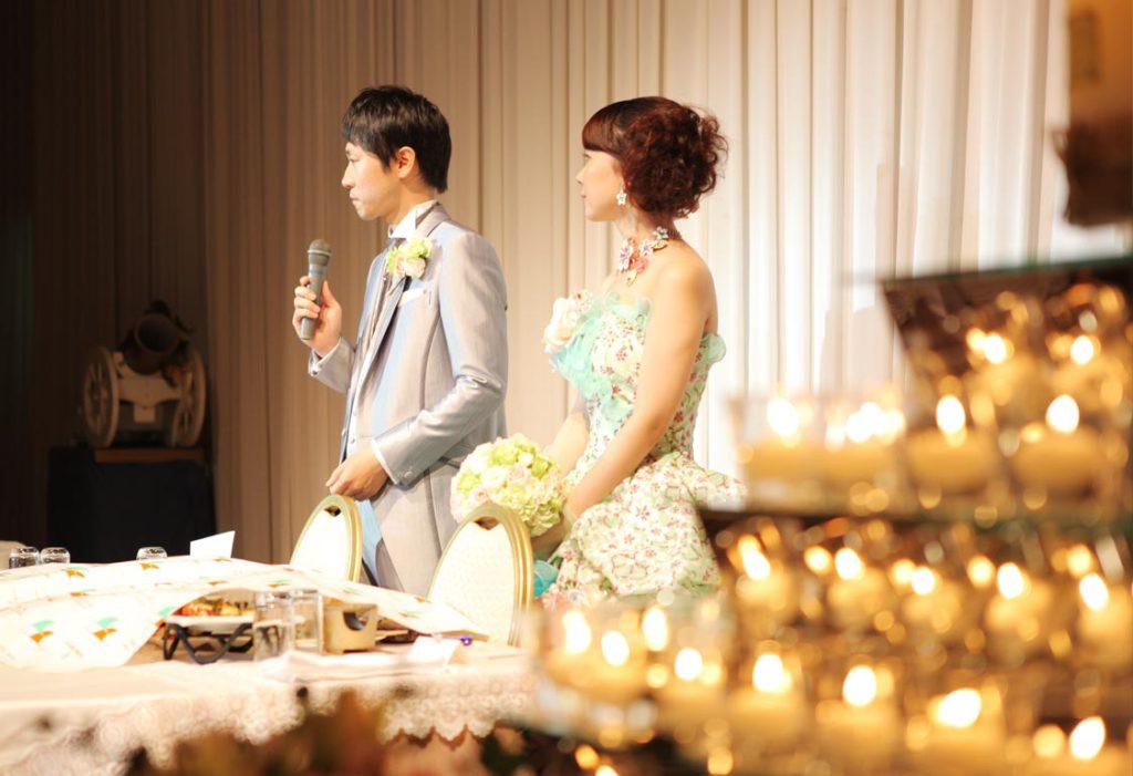 結婚式写真-スピーチ